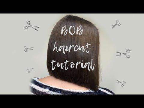 BOB HAIRCUT TUTORIAL