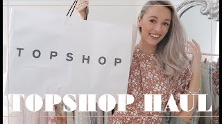 TOPSHOP SS19 HAUL + TRY ON // Fashion Mumblr
