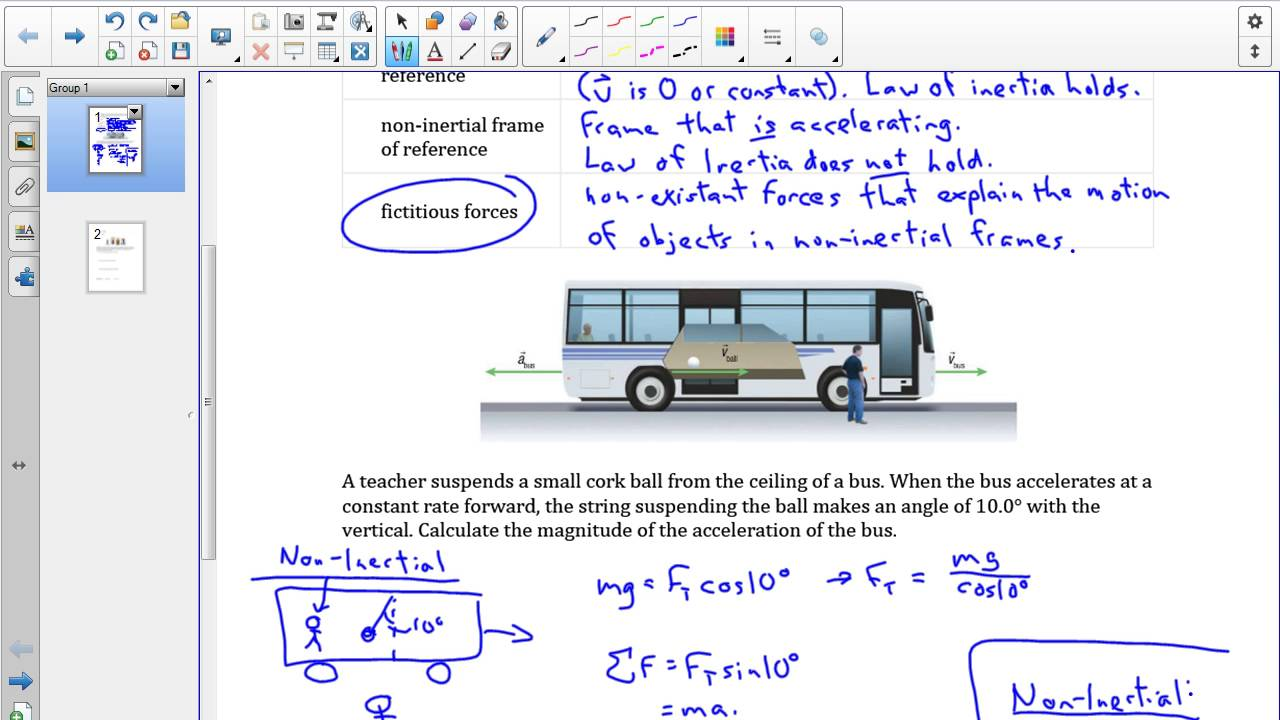SPH4U 3.1 Inertial and non-inertial frames of reference - YouTube