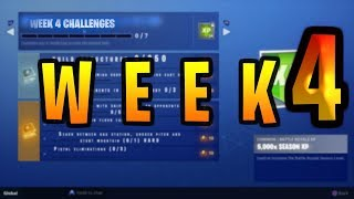 fortnite week 4 Challenges Season 5 LEAKED