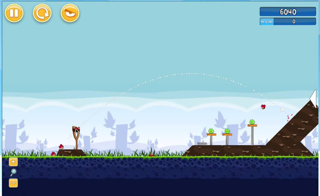 projectile motion in angry birds youtube
