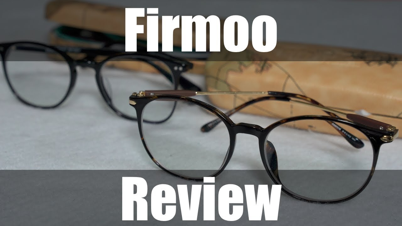 b4e596449e2a Buying Prescription Glasses Online - Firmoo Review - YouTube