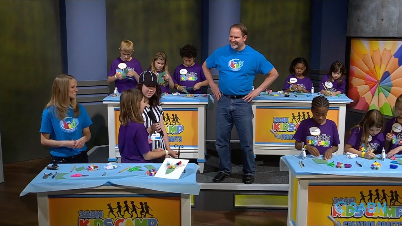 "07 - ""Grow in Christ"" - 3ABN Kids Camp Creation Crafts"