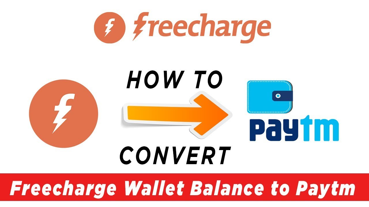 How To Send Money Freecharge To Paytm