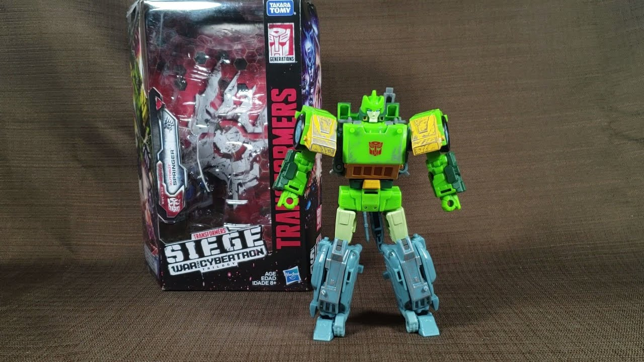 Transformers Siege Springer REVIEWS | TFW2005 - The 2005 Boards