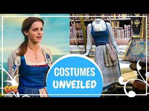 Emma Watson Beauty And The Beast 2017 Costume | Wardrobe Unveiled On Display In Los Angeles