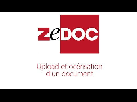 Publication et recherche dans ZeDOC Net Solution V4