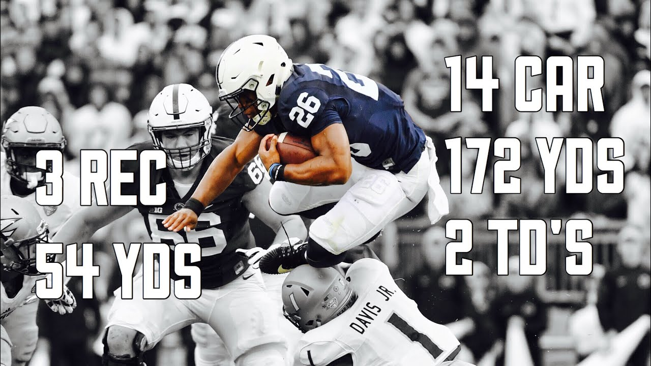 Having to go home in two weeks drives Saquon Barkley