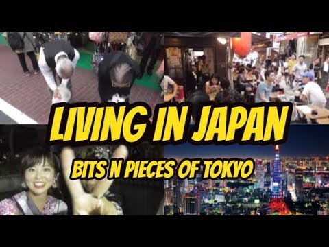 LIVING IN JAPAN - BITS n PIECES of TOKYO { A Daily Tokyo Life vlog}