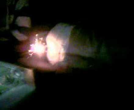 Kerze im arsch