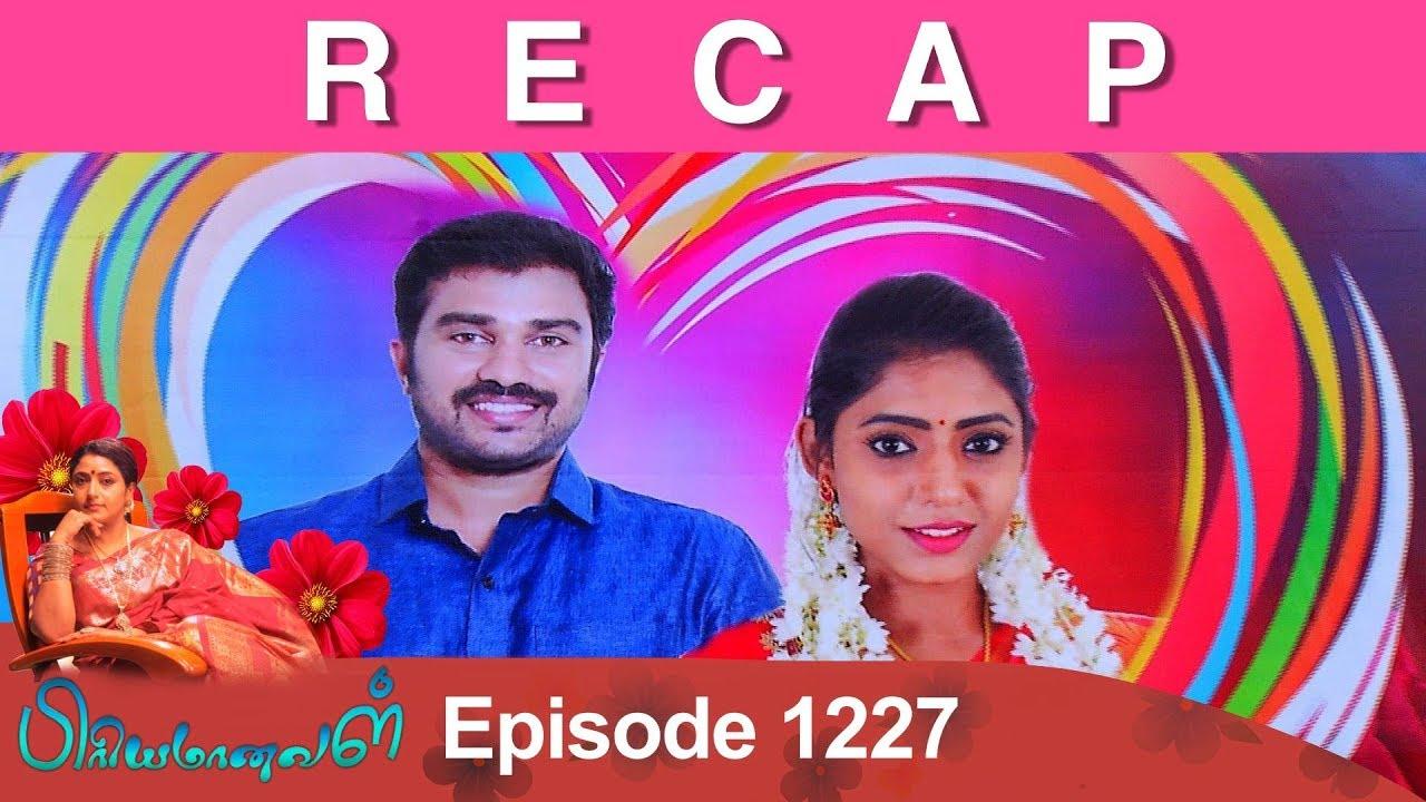 RECAP : Priyamanaval Episode 1227, 28/01/19