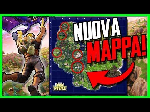 TUTTO Quello Che DEVI SAPERE Sul NUOVO AGGIORNAMENTO Di Fortnite! **Nuova Mappa!**