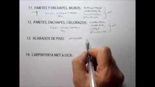 PASOS PARA CONSTRUIR UNA CASA O EDIFICIO (2 de 3)