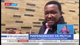 Alfred Mutua azungumzia Uchumi na Kupendekea Kongamano la kiuchumi kifanyike