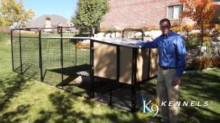 K9 Kennel Store - Kennel Castle For Large Breed Dogs