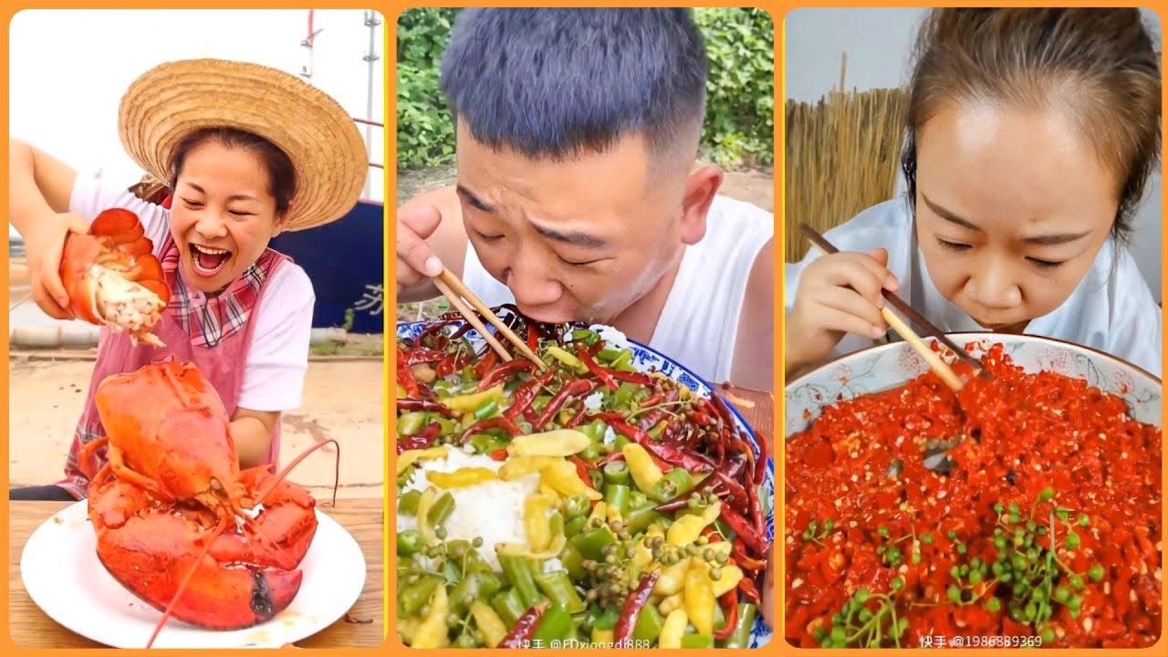 Thánh Ăn Đồ Siêu Cay Trung Quốc   Tik Tok Trung Quốc  P2