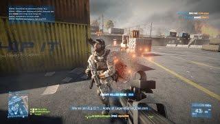 73 KILLS (P90) Battlefield 3: TDM - Noshahr Canals W/ Live Commentary