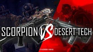 Лучшее оружие инженера Warface!Выбираем топ 1 имбопушку:Scorpion Evo3 vs Desert Tech в Варфейс
