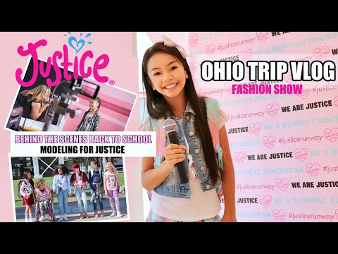 MODELING IN L.A FOR JUSTICE! Plus OHIO TRIP VLOG