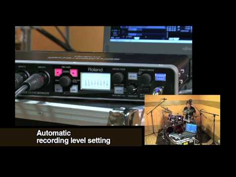 Roland Octa-Capture Audio Interface Overview