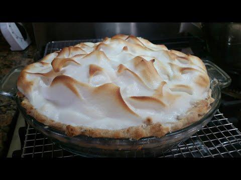 Rosie's Good Friday Baking Frenzy!...Baguette Dough & Lemon Meringue Pie!