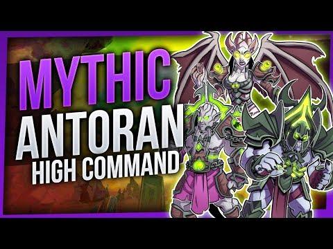 Antoran High Command   Mythic Antorus the Burning Throne   EnhShaman [WoW Legion 7.3.2]