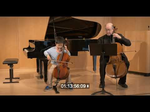 Cello Lessons at Wilton Music Studios - 7 Yr Old Cellist First Performance After 8 Months of Lessons