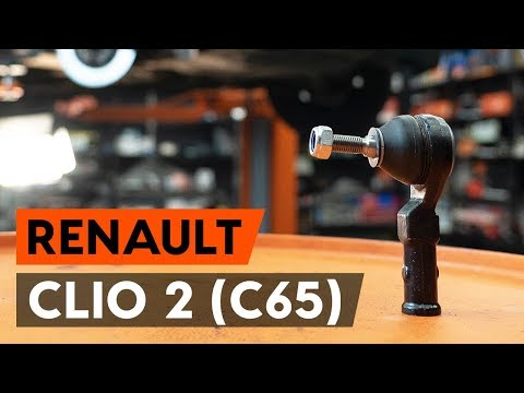 Как заменить наконечники поперечной рулевой тяги наRENAULT CLIO 2 (C65) [ВИДЕОУРОК AUTODOC]