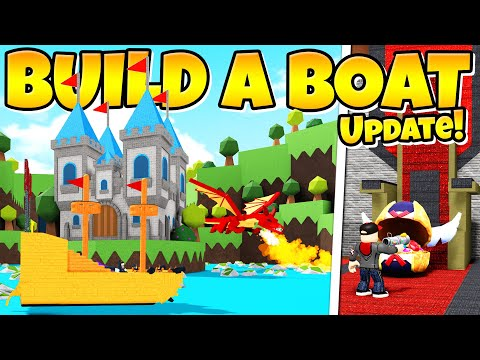 THE EGG HUNT UPDATE IS HERE! Build A Boat