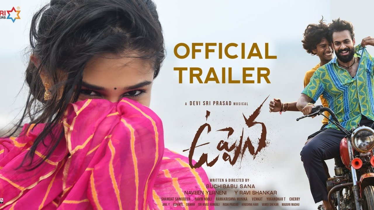 Download Uppena official teaser||panja vaisshnav tej|| krithi shetty||vijay sethupathi||buchi babu|| dsp #mmm