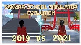 Sakura School Simulator Game Evolution   Oldest Version VS Latest Version (Part 1) screenshot 4