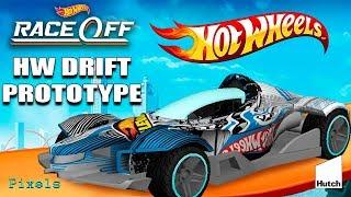 Hot Wheels Race Off - New Car HW Drift Prototype / New Level