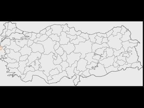 Türkiye Dilsiz Haritası Haritalar Serisi 5 Youtube