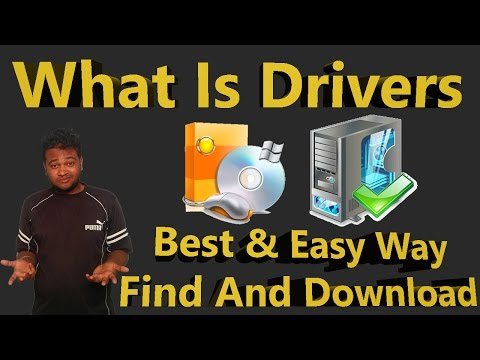 What Is Drivers In Computer & Best Easy Way To Download Install Any Drivers [Hindi]