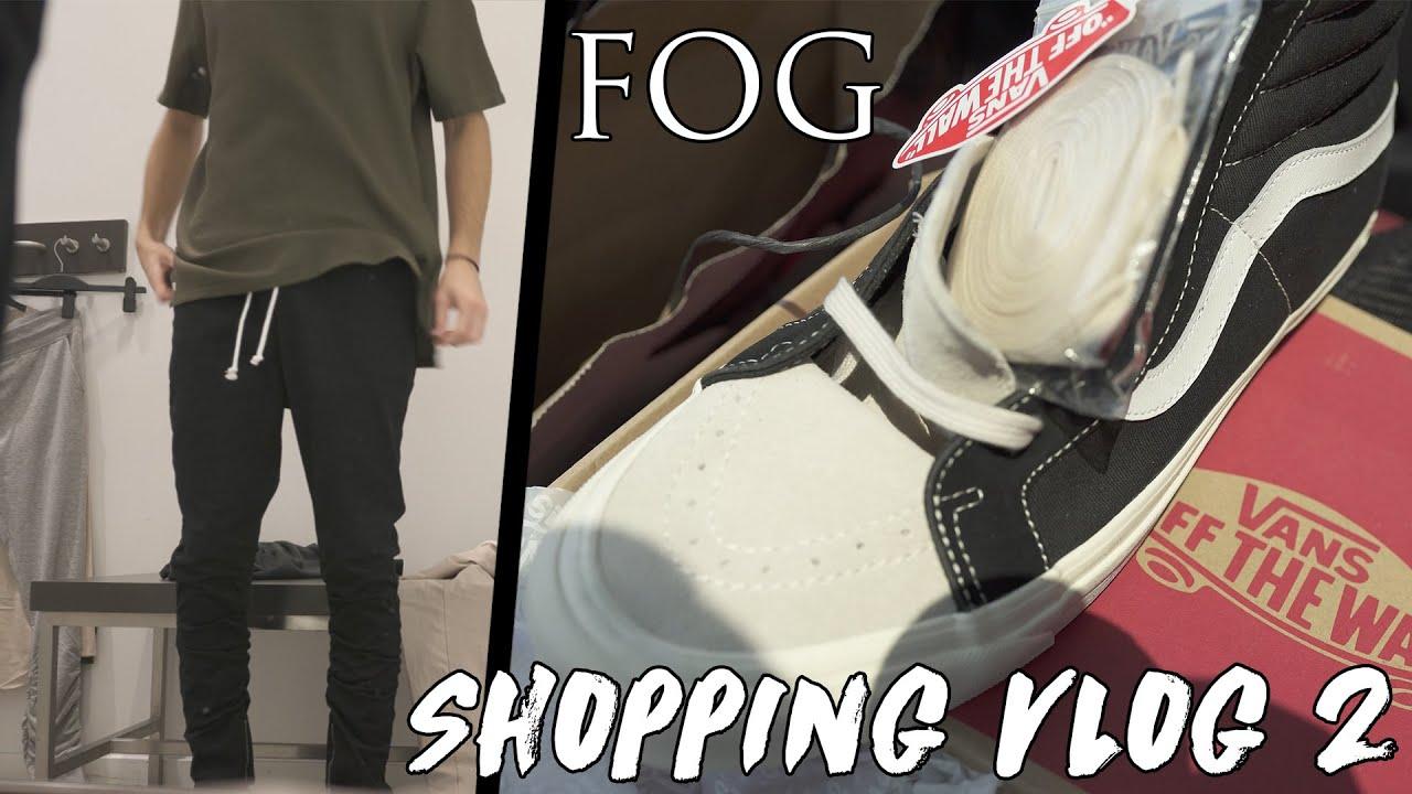 Vans Fog Era On Feet