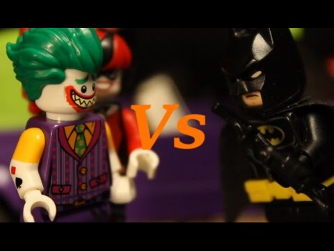 THE LEGO BATMAN MOVIE | Batman VS. Joker - YouTube