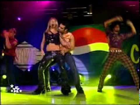 Britney Spears Boys Live Pepsi Charts 2002