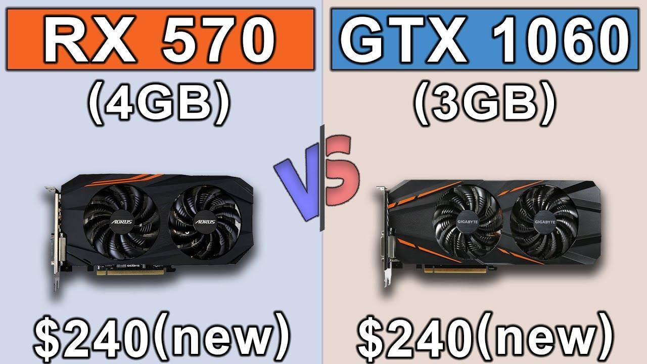RX 570 (4GB) vs GTX 1060 (3GB) | Ryzen 3 1200 | Latest Driver Updates