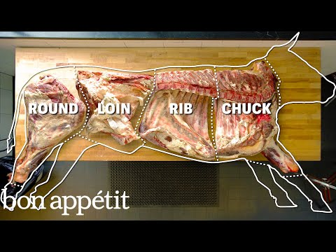 Thumbnail: How To Butcher An Entire Cow: Every Cut Of Meat Explained | Bon Appetit