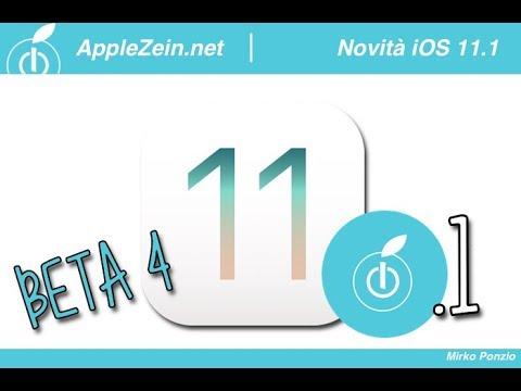 Ecco TUTTE le novità del nuovo iOS 11.1 Beta 4