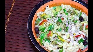 ? Chicken Avocado Pasta Salad - Chicken avocado Salad - Easy Salad Recipes