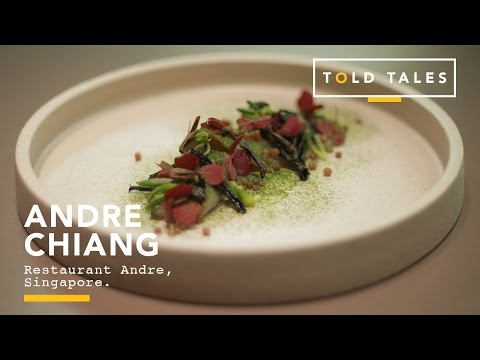 Portrait of One of the World's Best Chefs - Andre Chiang - Restaurant Andre