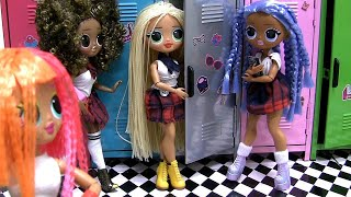 LOL OMG Dolls School Locker Surprise Disco Ball Lils and more
