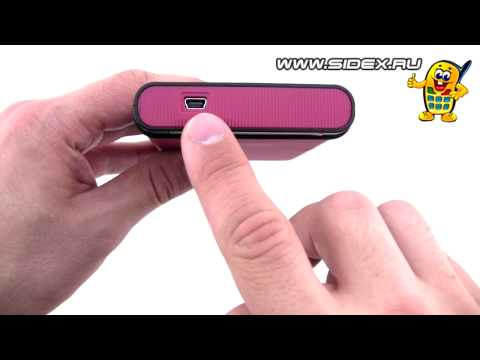 Sidex.ru: Видеообзор внешнего HDD Transcend StoreJet 25M Red 500 Gb (rus)