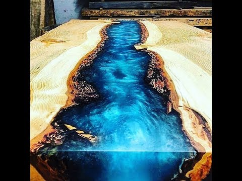 10 Amazing Epoxy Resin and Wood River Table Designs ! DIY Woodworking Projects DD