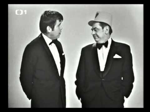 Oldo Hlaváček a Josef Kobr - Silvestr 1972