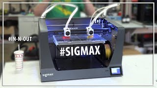 Previewing the BCN3D SigmaX 3D Printer at Matterhackers, Duplication, Mirroring, Bondtech!