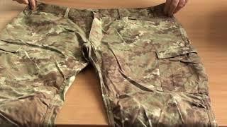 В1 (4).  Микс военной одежды, камуфляж