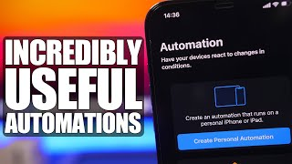 Incredibly USEFUL iPhone Automations (iOS 14)