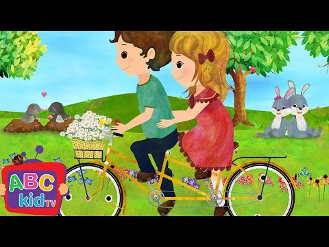 Daisy Bell / Bicycle Built for Two (2D) | Cocomelon (ABCkidTV) Nursery Rhymes & Kids Songs